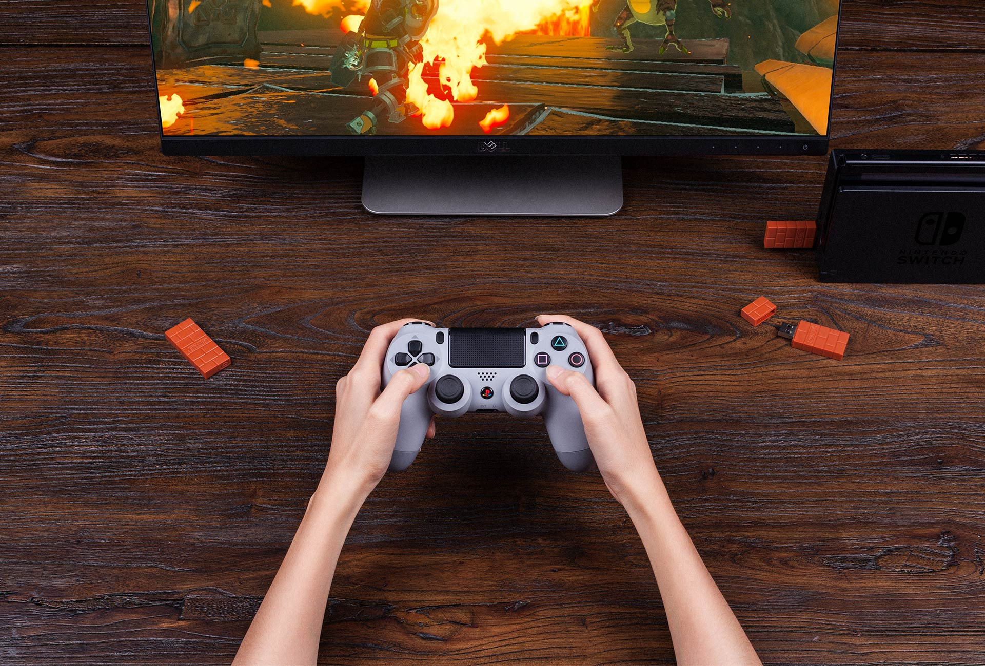 8bitdo Wireless Usb Adapter Ps3 Controller Wiring Diagram Compatible With All Bluetooth Controllers Next Gen Too The